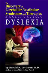 The Discovery of Cerebellar-Vestibular Syndromes and Therapies: A Solution to the Riddle Dyslexia