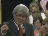 Watch Dr. Levinson's guest appearance on The Phil Donahue Show. Olympic gold-medalist Bruce Jenner discusses his personal experiences with Dyslexia and Dr. Levinson's techniques.